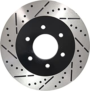 Fit 13-15 Ford Escape w//320mm Rotor Front Drill Brake Rotors Ceramic Pad