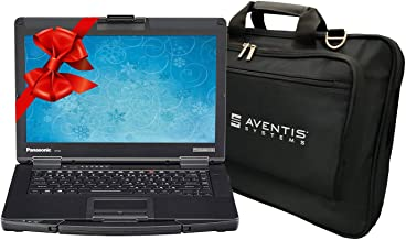 Panasonic Toughbook CF-54 Laptop PC Bundle with Laptop Bag, Intel i5-7300U 2.6GHz, 32GB RAM, 2TB SSD, Windows 10