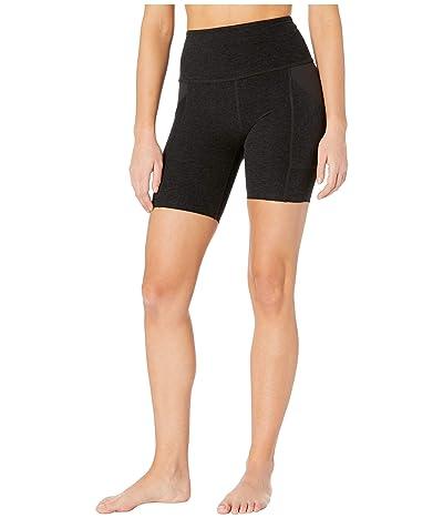 Beyond Yoga Spacedye In The Mix High Waisted Biker Shorts (Darkest Night) Women