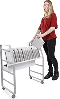 heavy duty mobile computer cart