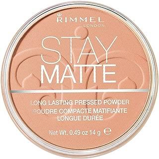 Rimmel London Stay Matte Pressed Powder, Cashmere, 14g