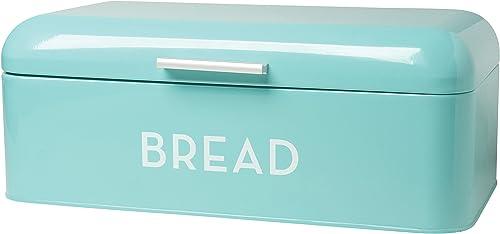 Now-Designs-5003496aa-Large-Bread-Bin-Turquoise-Blue