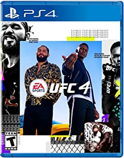 UFC 4 Playstation 4 by EA