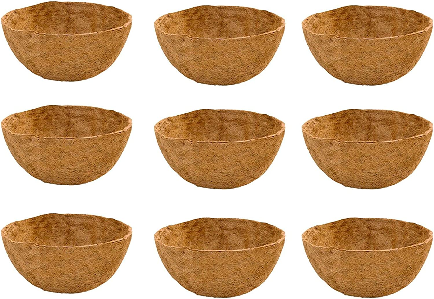 2021 new Challenge the lowest price of Japan Coconut Fiber Liner Circle Hanging Coco Replacemen Basket Liners