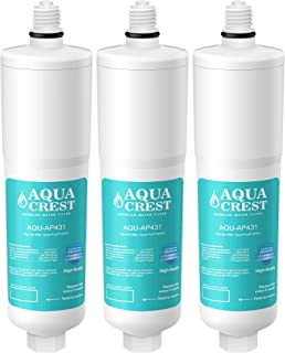 AQUACREST AP431 Cartridge, Compatible with Aqua-Pure AP431 Hot Water Scale Inhibitor for AP430SS (Pack of 3)
