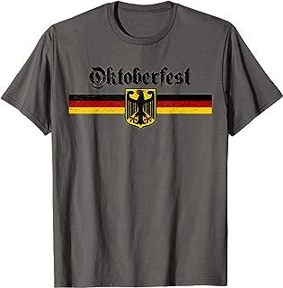 Oktoberfest Shirt Men Women Vintage German Coat of Arms Flag