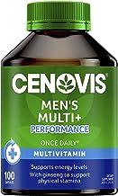 Cenovis Men's Multi + Performance - Multivitamin formulated for men - Supports physical stamina, 100 Capsules