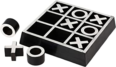 Tic Tac Toe Wooden Puzzle Board Games For Adults Handcrafted Toys From India