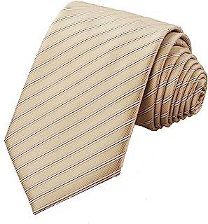 ربطة عنق للرجال من KissTies بألوان سادة + علبة هدية