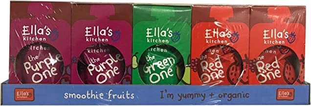 Ella's Kitchen Organic Fruit Smoothie Assortment, Pack