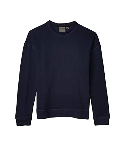 Naked & Famous Weekend Crew Sweatshirt (Solid Navy Vintage/Doubleface) Women