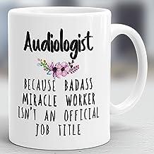 Audiologist Mug, Audiologist Gift, Audiology Mug, Audiology Gift, Audiology Present, Audiologist Present, Hearing Therapist Cup M4