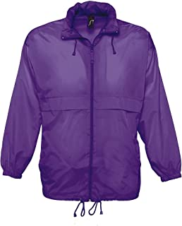 SOL'S Unisex Surf Windbreaker Lightweight Jacket