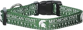 Pet Goods NCAA Michigan State Spartans Dog Collar, Medium