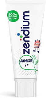 Zendium Junior Toothpaste 50ml – contains natural antibacterial enzymes and proteins - natural protection for new permanen...