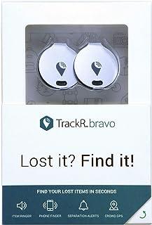 TrackR - Bravo - 2 Pack - Silver TB002EU2PSLV