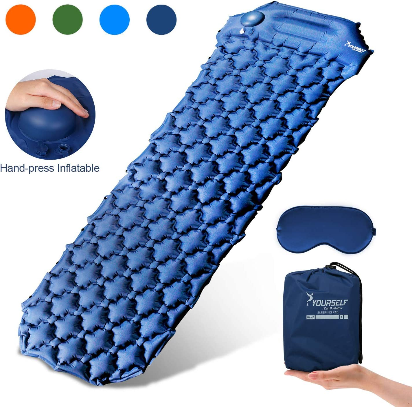 Ranking integrated 1st place SYOURSELF Max 74% OFF Camping Sleeping Pads for Inflatable