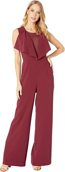 Raymee Drape Front Jumpsuit