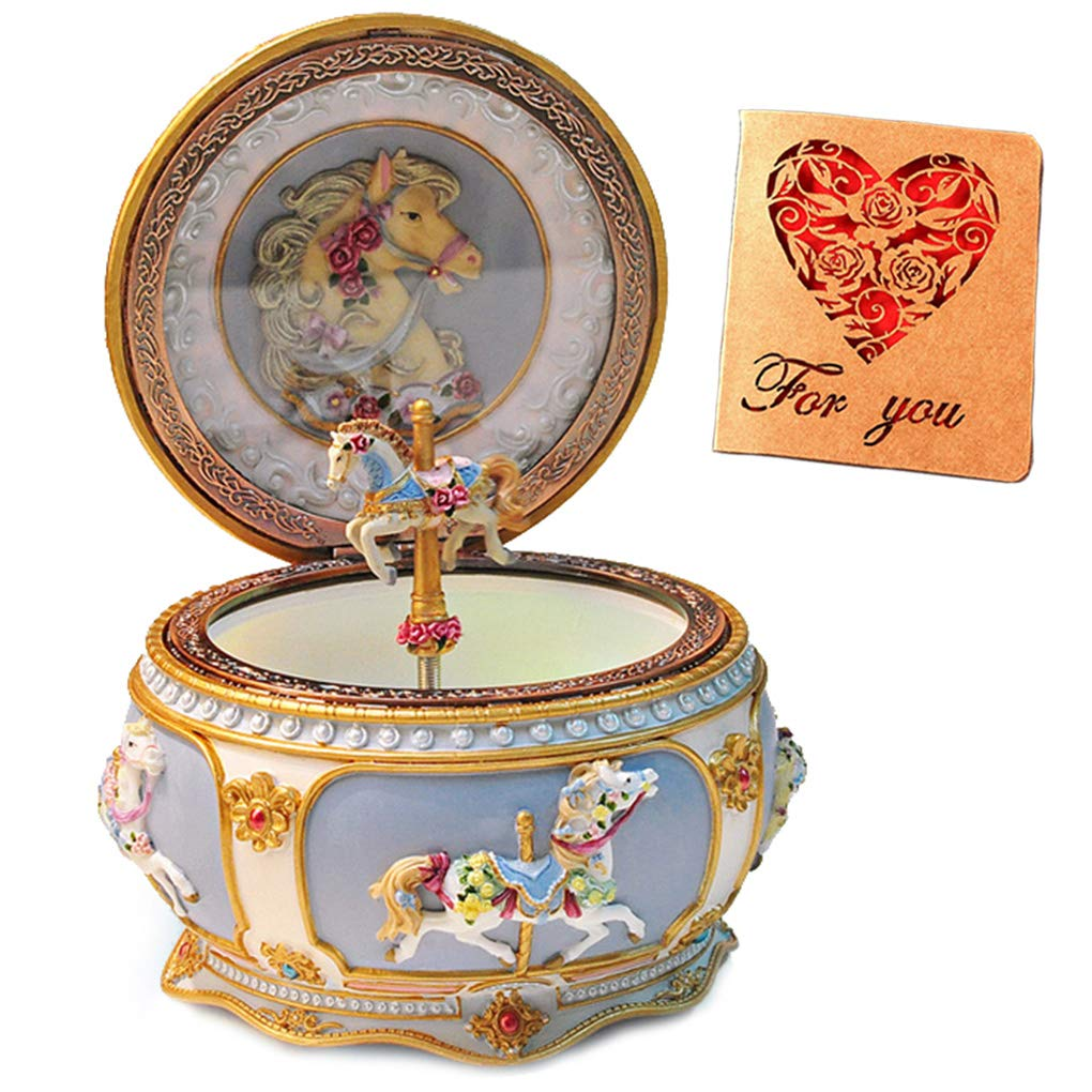 Amperer Classical Twinkling Collectible Mechanical