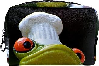 Cosmetische tas make-up tas reizen cosmetische zakje clutch portemonnee toilettas kikker chef-kok