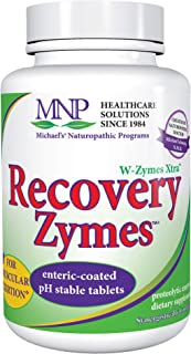 Michael's Naturopathic Programs Recovery Zymes - 270 Enteric Coated pH Stable Tablets - Proteolytic Enzyme Supplement, Sup...