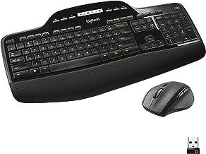 Logitech MK710 Combo Teclado y Ratón Inalámbrico para Windows, Conexión Inalámbrica 2,4 GHz, Ratón Inalámbrico, Teclas Multimedias, Batería de 3 Años, PC/Mac, QWERTY Español, color Negro
