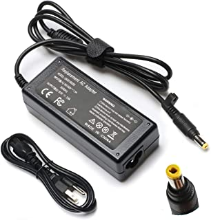 18.5V 3.5A 65W Adapter Charger Replacement for HP Pavilion DV9000 DV9100 DV9500,Compaq NC8220 NC8420 NW8200 NW8240 Presario V1000 V6000 X6100 510 515 610, Spare 9155068 393954001 394224001 Supply Cord