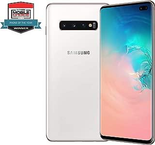 Samsung Galaxy S10 Plus Dual Sim - 1TB, 12GB RAM, 4G LTE, Ceramic White