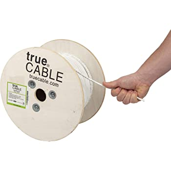 24 AWG// 500FT// Green cm Rated UTP Pull Box 500ft GRANDMAX CAT6 550MHz Stranded PVC Bulk Cable 4 Pair 100/% Pure Copper