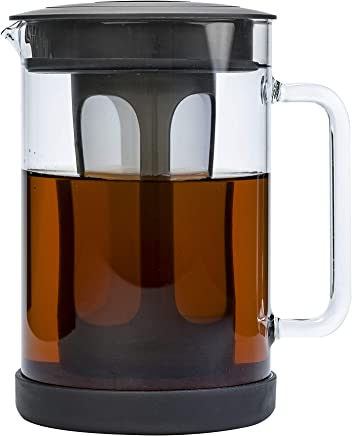 Primula Pace Cold Brew Coffee Maker - Drip Proof Lid and Filter Core - Makes 65% Less Acidic Coffee Than Heat Brewed Coffee - 100% BPA, PVC, Phthalate, and Lead Free - 51 Ounces - Black Pace N/A Black