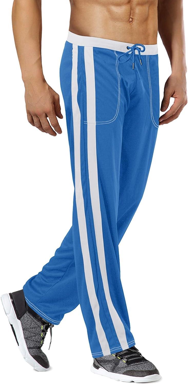 MAGNIVIT Men's High material Attention brand Lightweight Athletic Pants Open Mesh Sweatpants B