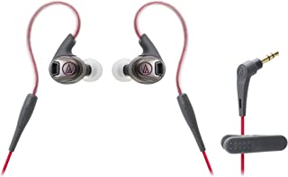 Audio-Technica ATH-SPORT3BK oordopjes_P ATH-SPORT3RD Zwart en Rood