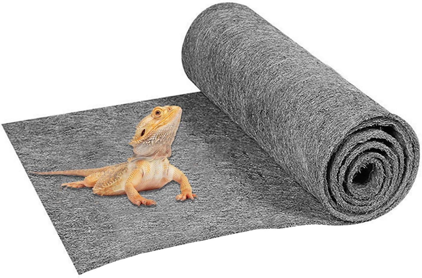 Mechpia 47'' x 23'' Large Ranking TOP4 Carpet Terrarium Bedding Liner online shopping Reptile