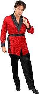 Costumes - RED SMOKING JACKET