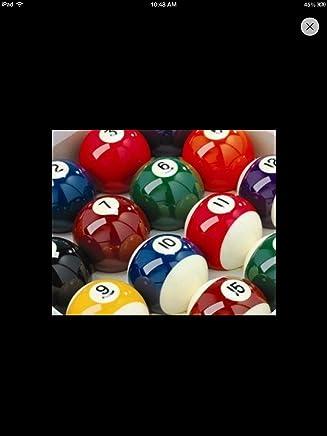 Unbekannt Spots & Stripes Pub Billardkugeln; 5,1 cm, mit 1 7 8 Cue Ball B003WOWJE6  | Attraktiv Und Langlebig