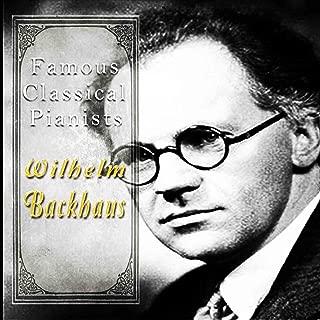 pianist wilhelm backhaus