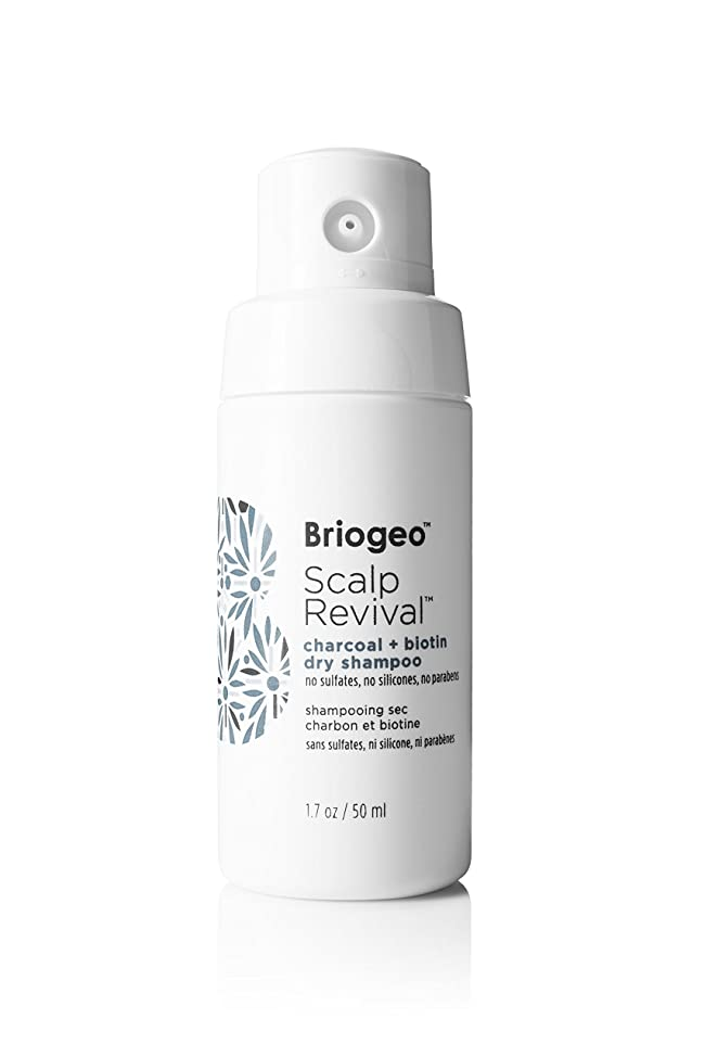 Briogeo - Scalp Revival Charcoal + Biotin Dry Shampoo, Scalp-Nourishing Treatment for Oily Hair and Scalps, 1.7 oz vnkgllbk207