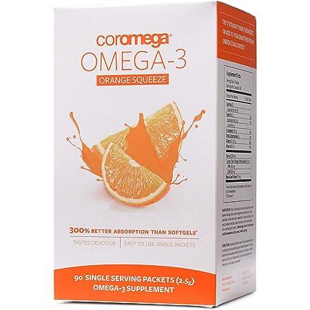 Coromega Omega 3 Supplement- Orange