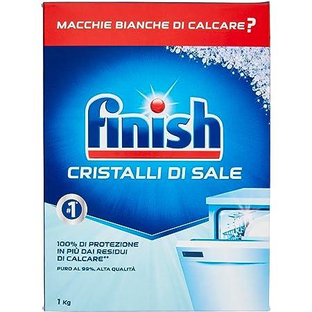 Finish- Boîte de 1kg de cristaux de sel pour lave-vaisselle