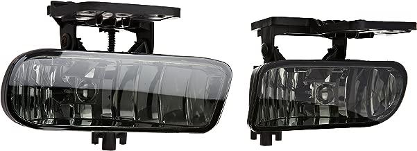 Spec-D Tuning LF-SIE99GOEM-HZ GMC Sierra Sl Sle Slt Oem Style Smoked Fog Lights Lamps