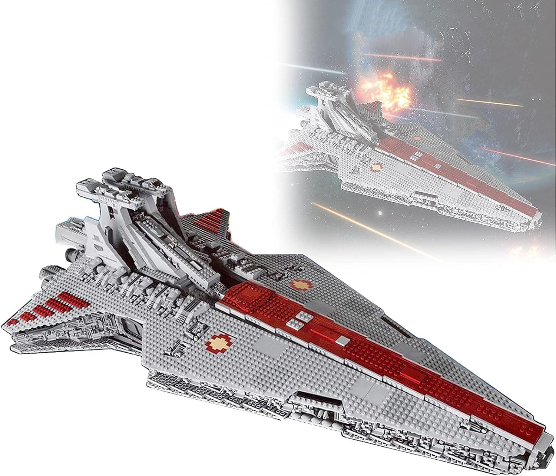 RRNAR Modelo técnico del Crucero Espacial, 6685 Piezas Molde King 21005 Kit de Crucero Compatible con Lego Guerra de Las Galaxias, Juguetes para Adultos y niños