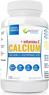 Wish Pharmaceutical Calcio + Vitamina C Paquete