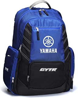 Mochila GYTR Yamaha Racing Blue Correa torácica ajustable 31 litros Enduro Moto Carretera pista Tiempo libre Original Paddock Azul Off-Road