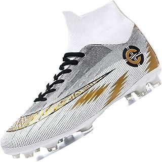 Botas de Fútbol para Hombre Spike Zapatillas de Fútbol Profesionales Atletismo Training Zapatos de Fútbol