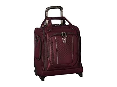 Travelpro 16 Crew Versapack Rolling Underseat Carry-On (Perfect Plum) Luggage