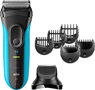 Braun Series 3 Shave&Style 3010BT 3-in-1 Electric Wet&Dry Shaver With Precision Trimmer And% Comb Attachments