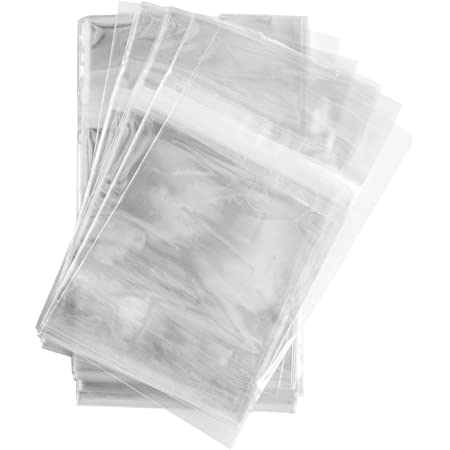 Details about  /Clear Cello Bags 7 7//16x10 1//2 Resealable Cellophane OPP Poly Sleeves Packing
