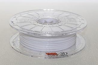 WOL 3D Finder Premium PLA White 3D Filament 1.75mm, 600 Gram