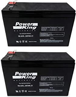 12V 7AH SLA Battery Replaces gp1272 np7-12 bp7-12 npw36-12 ps-1270 ub1280 - 2 Pack Beiter DC Power