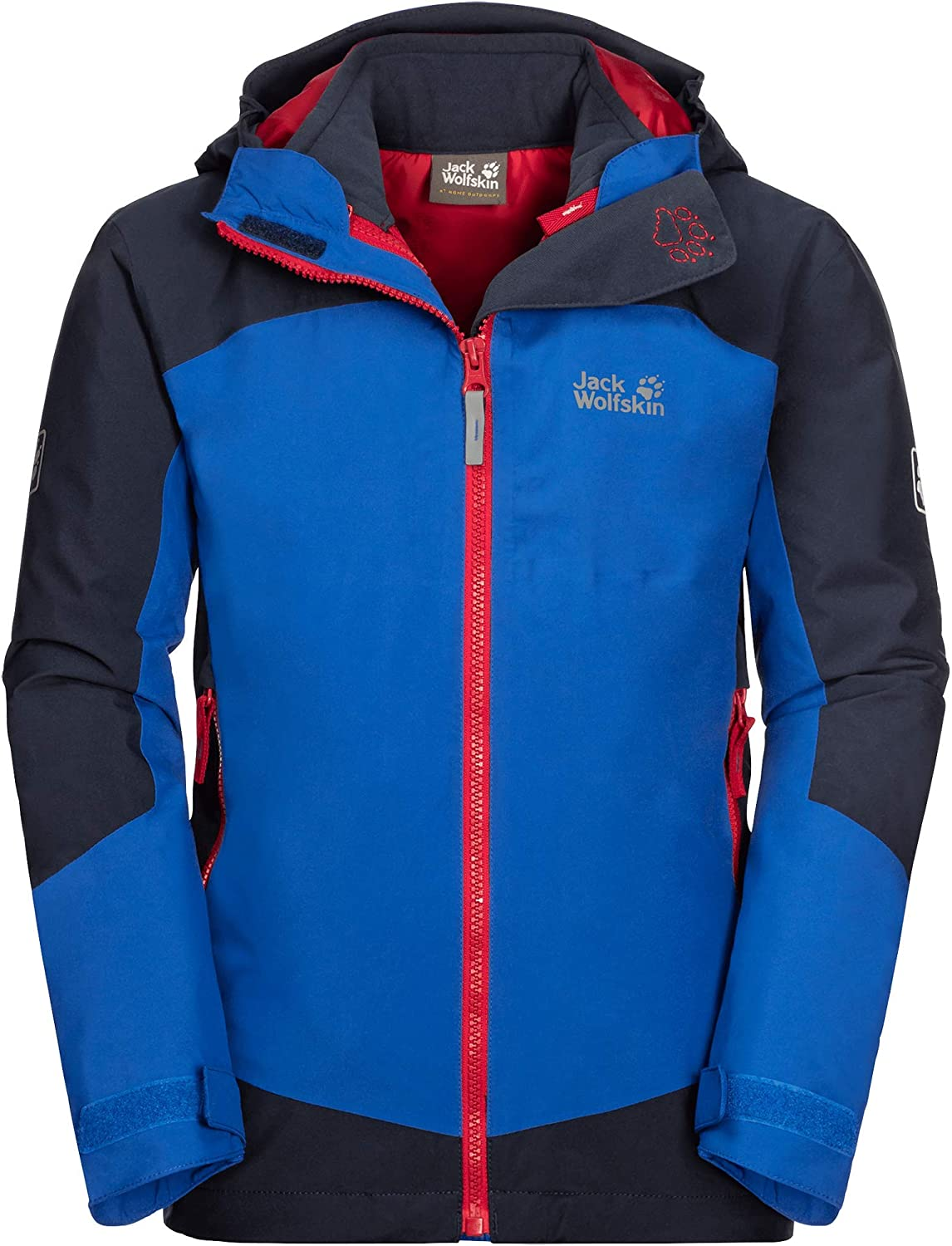 Jack Wolfskin Unisex-Teen Ropi Kids Challenge the lowest price of Japan Charlotte Mall Jacket 3in1